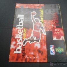 Coleccionismo deportivo: ALBUM BASKETBALL 1997/1998 - UPPER DECK - CONTIENE 279 CROMOS DE LOS 332 QUE SE COMPONE LA COLECCIÓN. Lote 53603046