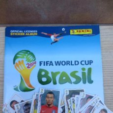 Coleccionismo deportivo: ALBUN FIFA WORLD CUP BRASIL MAS 39 CROMOS SIN PEGAR.. Lote 53647857