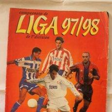 Coleccionismo deportivo: ÁLBUM LIGA FÚTBOL 97-98 DE PANINI, INCOMPLETO, CON 322 CROMOS. Lote 53817201