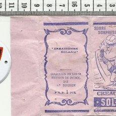 Coleccionismo deportivo: 10.159 SOBRE ABIERTO, ESCUDO DE CHAPA, ATLETICO DE MADRID, ATLETICO BILBAO, TEMPORADA 1971-72. Lote 53861651