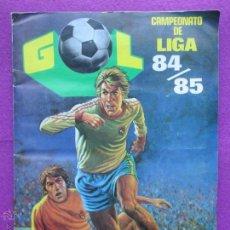 Coleccionismo deportivo: ALBUM CROMOS CAMPEONATO DE LIGA 84-85, EDITORIAL MAGA, INCOMPLETO, FUTBOL. Lote 53961803