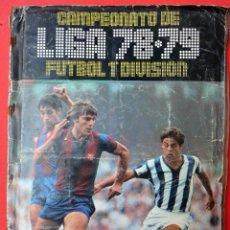 Coleccionismo deportivo: ALBUM FUTBOL, LIGA 1978 1979 , 78 79 , COMPLETO , EDICIONES ESTE , ORIGINAL , FF. Lote 53999930
