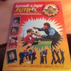 Coleccionismo deportivo: APRENDE A JUGAR A FUTBOL CON JOHAN CRUYFF (ALBUM CON 180 CROMOS) (AB-1). Lote 54145110