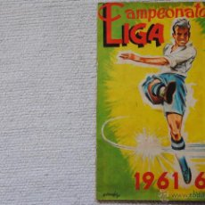 Coleccionismo deportivo: ALBUM DISGRA CAMPEONATO DE LIGA 1961-62. Lote 54158223