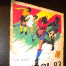 Coleccionismo deportivo: ALBUM CROMOS PRIMERA Y SEGUNDA DIVISION FUTBOL 82 PANINI. Lote 54187903