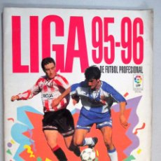 Coleccionismo deportivo: ALBUM DE CROMOS FÚTBOL , LIGA 95 - 96 , 1995 1996 , PANINI , INCOMPLETO. Lote 54204791