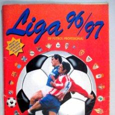 Coleccionismo deportivo: ALBUM DE CROMOS FÚTBOL , LIGA 96 - 97 , 1996 1997 , PANINI , INCOMPLETO , CON POSTER. Lote 54205035