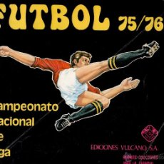 Coleccionismo deportivo: ALBUM FUTBOL VULCANO 75/76. Lote 54210877