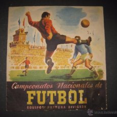 Coleccionismo deportivo: ALBUM CAMPEONATOS NACIONALES DE FUTBOL - TEMPORADA 1952-53 -RUIZ ROMERO - VACIO -VER FOTOS-(V-4254). Lote 54263833
