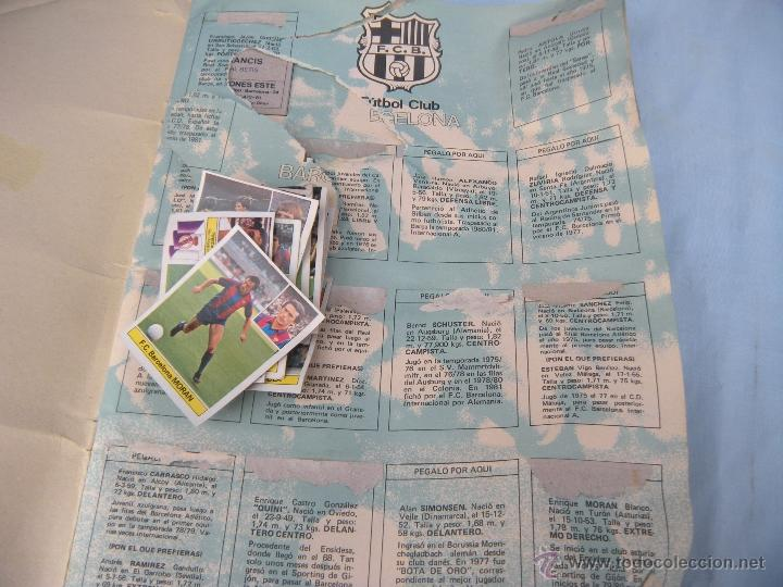 Coleccionismo deportivo: ALBUM FUTBOL CAMPEONATO LIGA 81-82 - Foto 2 - 54292903