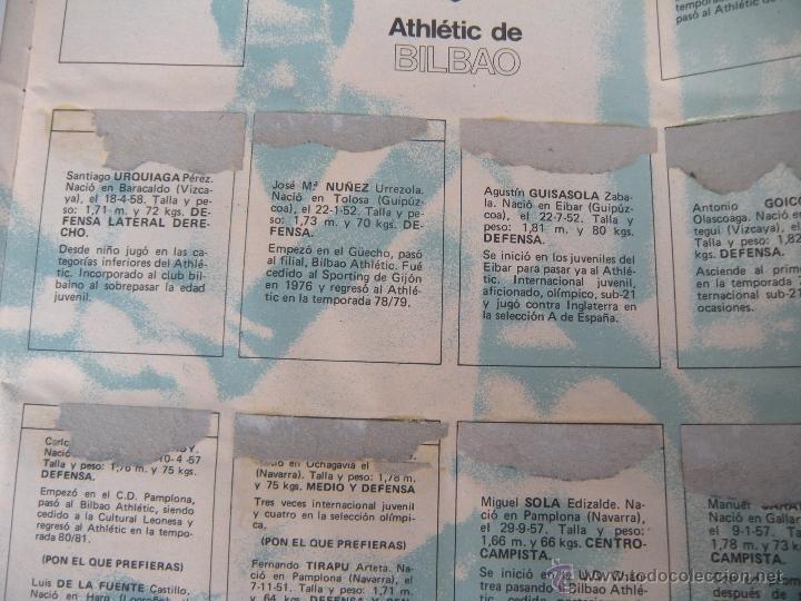 Coleccionismo deportivo: ALBUM FUTBOL CAMPEONATO LIGA 81-82 - Foto 4 - 54292903