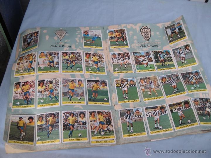 Coleccionismo deportivo: ALBUM FUTBOL CAMPEONATO LIGA 81-82 - Foto 5 - 54292903