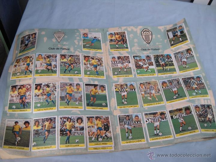 Coleccionismo deportivo: ALBUM FUTBOL CAMPEONATO LIGA 81-82 - Foto 6 - 54292903