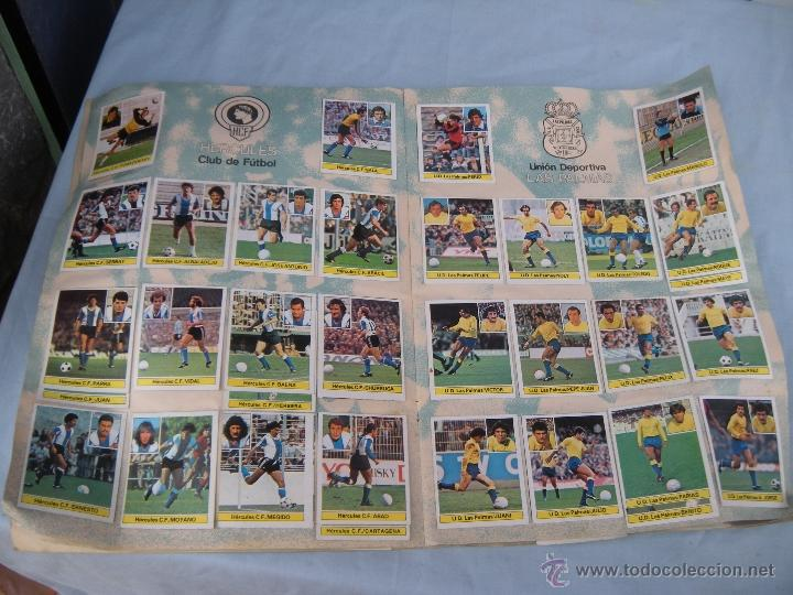 Coleccionismo deportivo: ALBUM FUTBOL CAMPEONATO LIGA 81-82 - Foto 8 - 54292903