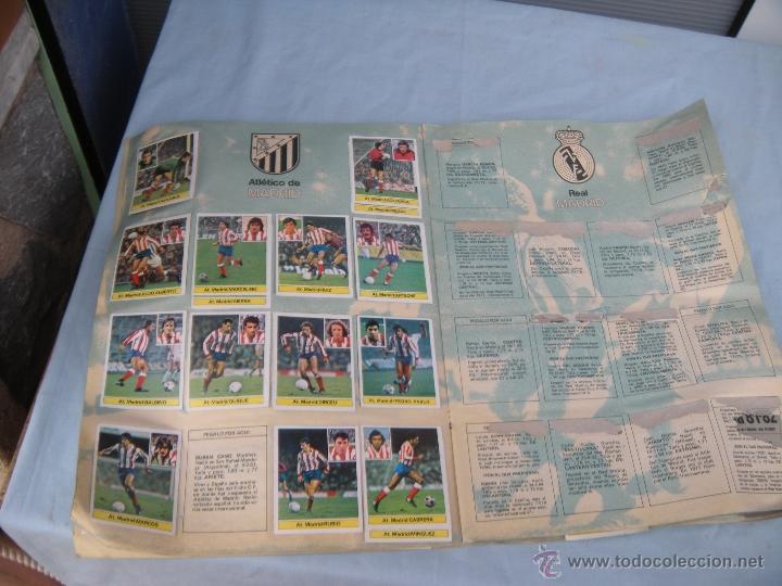 Coleccionismo deportivo: ALBUM FUTBOL CAMPEONATO LIGA 81-82 - Foto 9 - 54292903