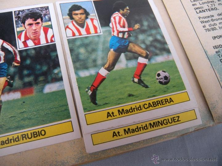 Coleccionismo deportivo: ALBUM FUTBOL CAMPEONATO LIGA 81-82 - Foto 10 - 54292903