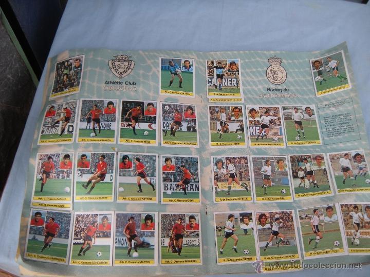 Coleccionismo deportivo: ALBUM FUTBOL CAMPEONATO LIGA 81-82 - Foto 11 - 54292903