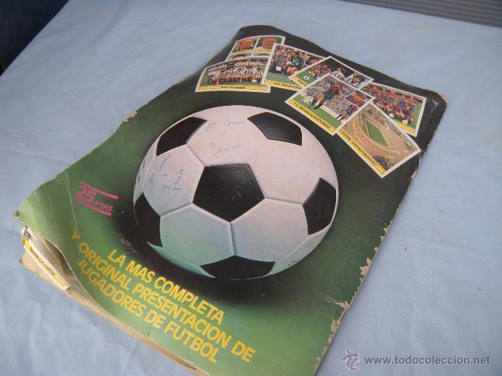 Coleccionismo deportivo: ALBUM FUTBOL CAMPEONATO LIGA 81-82 - Foto 12 - 54292903