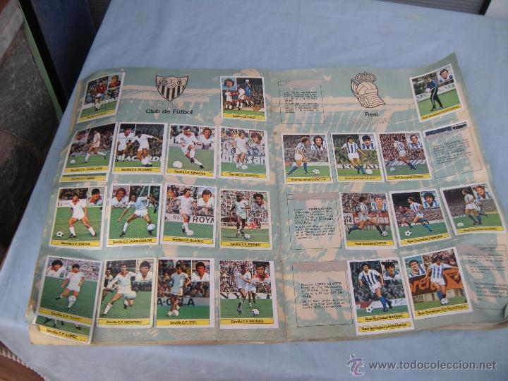 Coleccionismo deportivo: ALBUM FUTBOL CAMPEONATO LIGA 81-82 - Foto 13 - 54292903