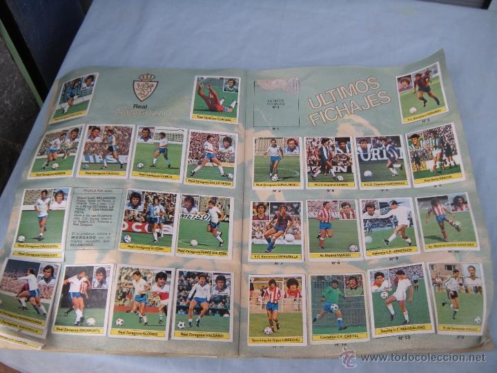 Coleccionismo deportivo: ALBUM FUTBOL CAMPEONATO LIGA 81-82 - Foto 15 - 54292903