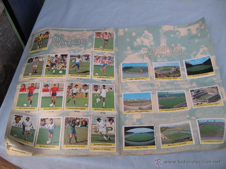Coleccionismo deportivo: ALBUM FUTBOL CAMPEONATO LIGA 81-82 - Foto 16 - 54292903