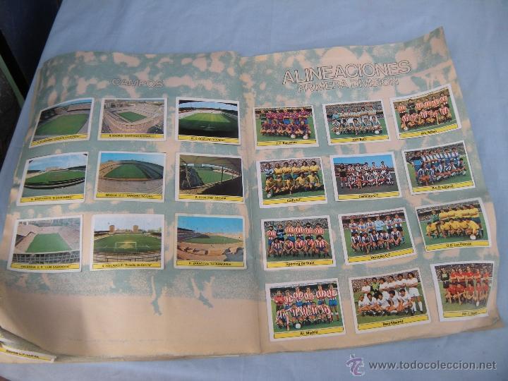 Coleccionismo deportivo: ALBUM FUTBOL CAMPEONATO LIGA 81-82 - Foto 17 - 54292903