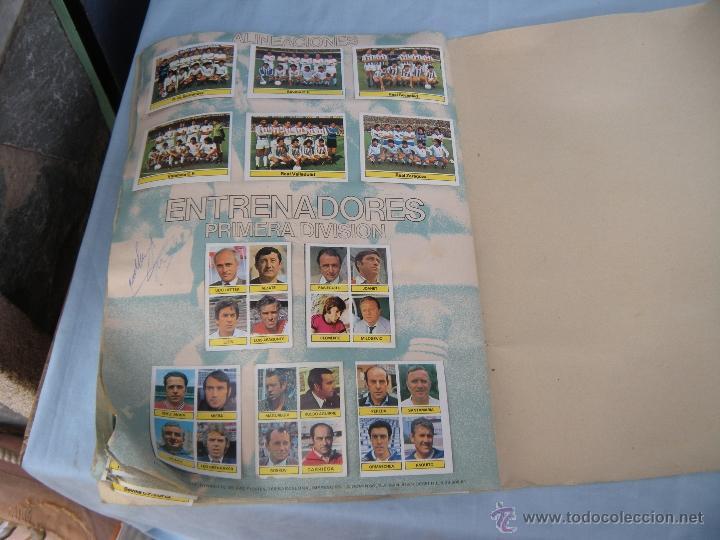 Coleccionismo deportivo: ALBUM FUTBOL CAMPEONATO LIGA 81-82 - Foto 18 - 54292903