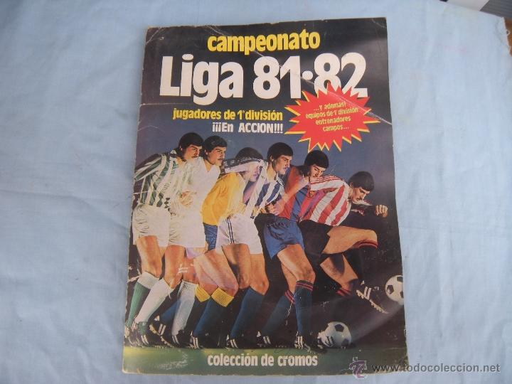 Coleccionismo deportivo: ALBUM FUTBOL CAMPEONATO LIGA 81-82 - Foto 19 - 54292903
