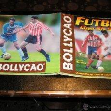 Coleccionismo deportivo: ALBUM INCOMPLETO DE FUTBOL,LIGA 1996-1997/96-97,DE BOLLYCAO. Lote 54376714