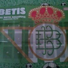 Álbum-póster vacío colección Real Betis Panrico 96-97