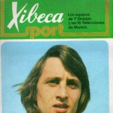 Coleccionismo deportivo: ALBUM XIBECA SPORT,VACIO SIN CROMOS. Lote 54475426