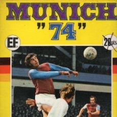 Coleccionismo deportivo: ALBUM MUNICH 74. Lote 54475686