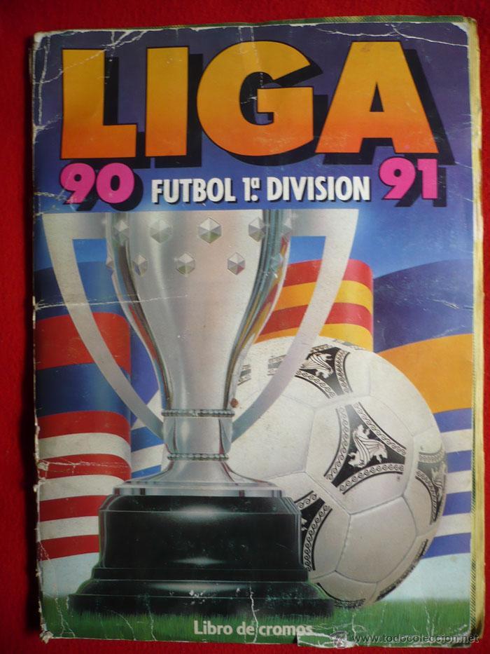 ALBUM EDICIONES ESTE 1990-1991. INCOMPLETO CON MAS DE 370 CROMOS DIFERENTES. ESTE 90-91 (Coleccionismo Deportivo - Álbumes y Cromos de Deportes - Álbumes de Fútbol Incompletos)