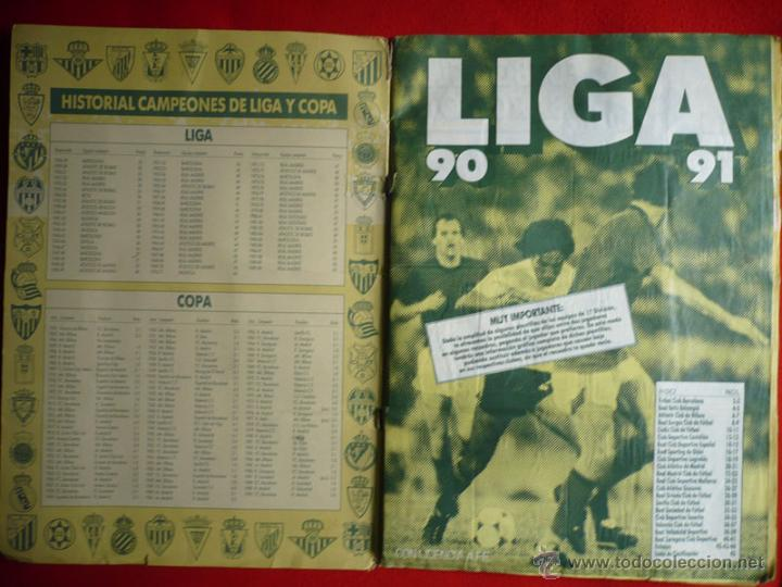 Coleccionismo deportivo: ALBUM EDICIONES ESTE 1990-1991. INCOMPLETO CON MAS DE 370 CROMOS DIFERENTES. ESTE 90-91 - Foto 2 - 39404301