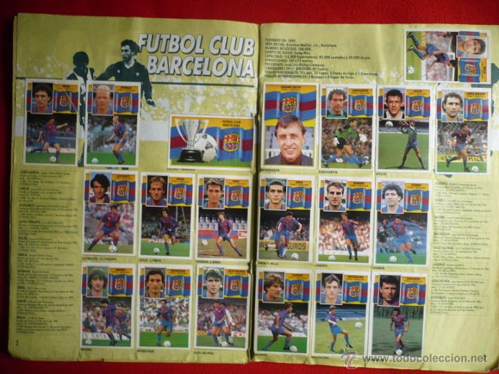 Coleccionismo deportivo: ALBUM EDICIONES ESTE 1990-1991. INCOMPLETO CON MAS DE 370 CROMOS DIFERENTES. ESTE 90-91 - Foto 3 - 39404301