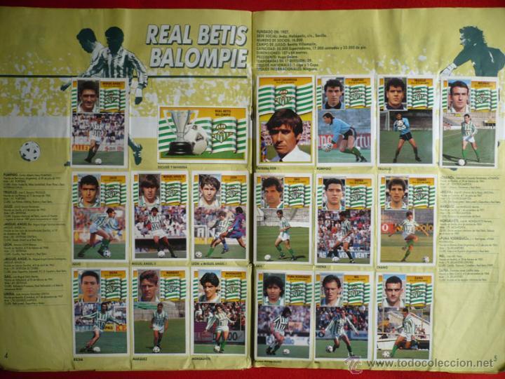 Coleccionismo deportivo: ALBUM EDICIONES ESTE 1990-1991. INCOMPLETO CON MAS DE 370 CROMOS DIFERENTES. ESTE 90-91 - Foto 4 - 39404301