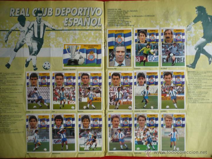 Coleccionismo deportivo: ALBUM EDICIONES ESTE 1990-1991. INCOMPLETO CON MAS DE 370 CROMOS DIFERENTES. ESTE 90-91 - Foto 9 - 39404301