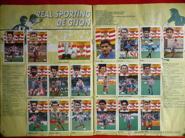 Coleccionismo deportivo: ALBUM EDICIONES ESTE 1990-1991. INCOMPLETO CON MAS DE 370 CROMOS DIFERENTES. ESTE 90-91 - Foto 10 - 39404301