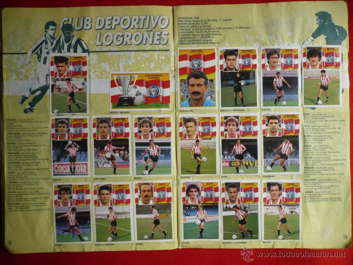 Coleccionismo deportivo: ALBUM EDICIONES ESTE 1990-1991. INCOMPLETO CON MAS DE 370 CROMOS DIFERENTES. ESTE 90-91 - Foto 11 - 39404301