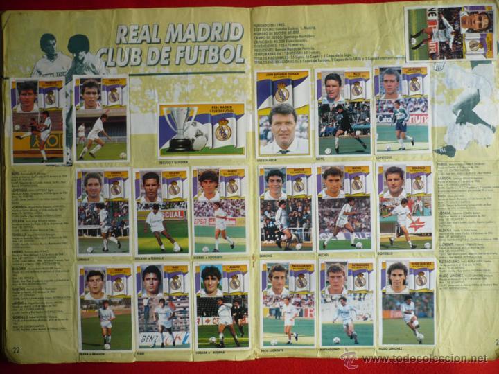 Coleccionismo deportivo: ALBUM EDICIONES ESTE 1990-1991. INCOMPLETO CON MAS DE 370 CROMOS DIFERENTES. ESTE 90-91 - Foto 13 - 39404301