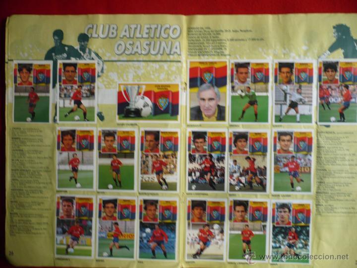 Coleccionismo deportivo: ALBUM EDICIONES ESTE 1990-1991. INCOMPLETO CON MAS DE 370 CROMOS DIFERENTES. ESTE 90-91 - Foto 17 - 39404301