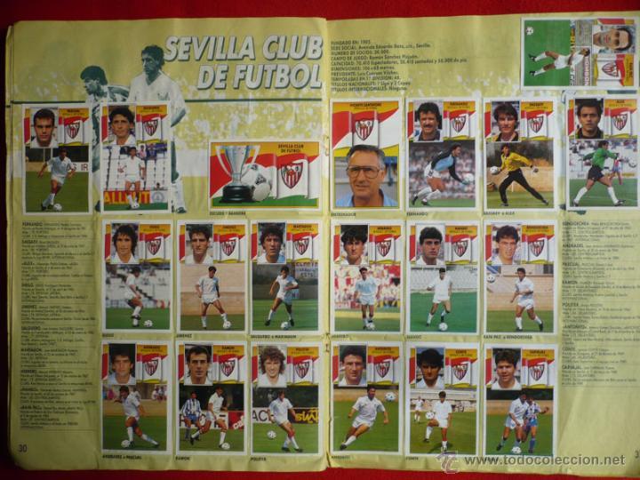 Coleccionismo deportivo: ALBUM EDICIONES ESTE 1990-1991. INCOMPLETO CON MAS DE 370 CROMOS DIFERENTES. ESTE 90-91 - Foto 19 - 39404301