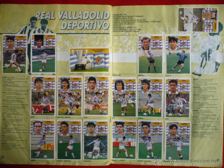 Coleccionismo deportivo: ALBUM EDICIONES ESTE 1990-1991. INCOMPLETO CON MAS DE 370 CROMOS DIFERENTES. ESTE 90-91 - Foto 23 - 39404301