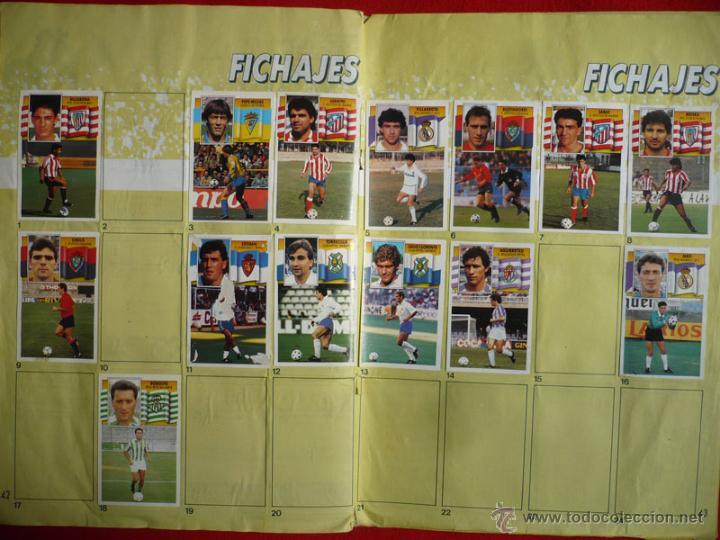 Coleccionismo deportivo: ALBUM EDICIONES ESTE 1990-1991. INCOMPLETO CON MAS DE 370 CROMOS DIFERENTES. ESTE 90-91 - Foto 26 - 39404301