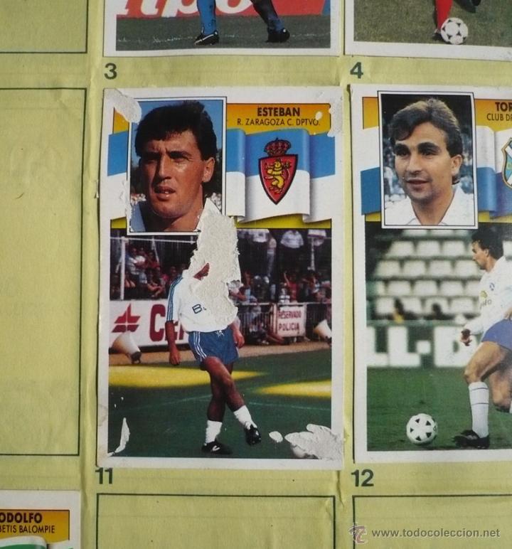 Coleccionismo deportivo: ALBUM EDICIONES ESTE 1990-1991. INCOMPLETO CON MAS DE 370 CROMOS DIFERENTES. ESTE 90-91 - Foto 27 - 39404301