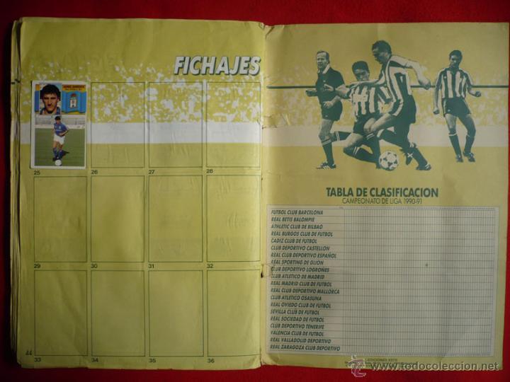 Coleccionismo deportivo: ALBUM EDICIONES ESTE 1990-1991. INCOMPLETO CON MAS DE 370 CROMOS DIFERENTES. ESTE 90-91 - Foto 28 - 39404301