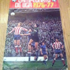 Coleccionismo deportivo: ALBUM CAMPEONATO DE LIGA 1976 - 77. EDITORIAL DISGRA. Lote 54554144