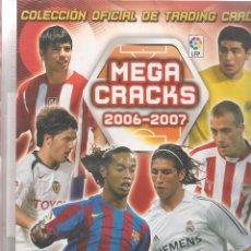 Coleccionismo deportivo: MEGA CRACKS. 2006 - 2007. ÁLBUM CON 27 MEGA CRACKS. PANINI. (B/A14). Lote 54575405