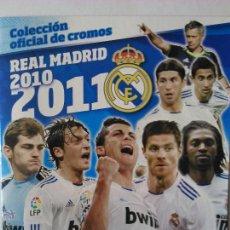 Coleccionismo deportivo: ALBUM PLANCHA REAL MADRID 2010 - 2011 PANINI NUEVO VACIO. Lote 54599839
