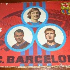 Coleccionismo deportivo: ALBUM CROMOS 75 AÑOS FUTBOL CLUB BARCELONA . BARÇA INCOMPLETO 141 CROMOS DE 271 . VER DESCRIPCION. Lote 54703022